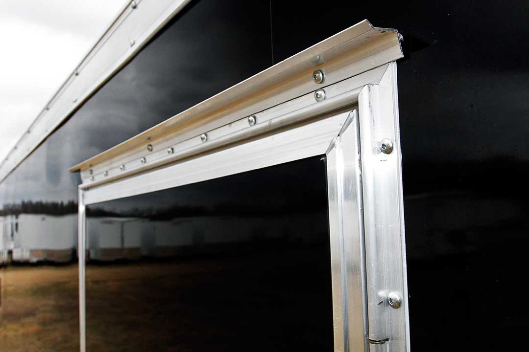 Drip Rail over Side/Rear Doors