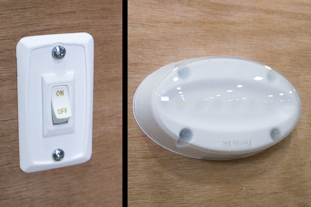 12v LED Dome Light with Wall Switch (4)