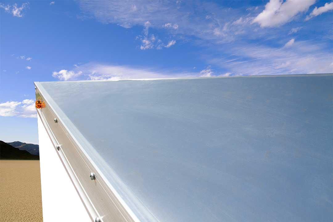 1-Piece Aluminum Roof