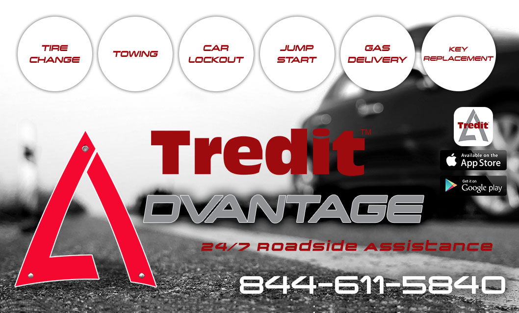 Tredit Advantage Cling sticker