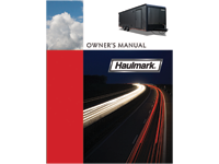 Haulmark Owners Manual